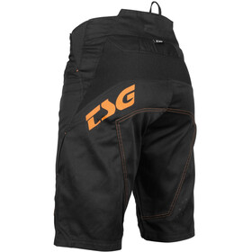 TSG AK4 Shorts, black/orange